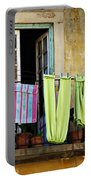 Hanged Clothes Portable Battery Charger by Carlos Caetano