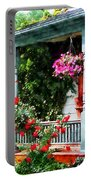 Hanging Baskets And Climbing Roses Portable Battery Charger