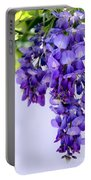 Hanging Purple Passion Portable Battery Charger