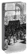 Hannukah Celebration, 1880 Portable Battery Charger