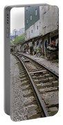 Hanoi Train Tracks Portable Battery Charger