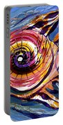 Happified Swirl Fish Portable Battery Charger