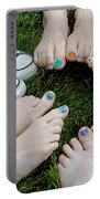 Happy Feet Portable Battery Charger