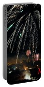 Happy New Year Card Portable Battery Charger
