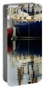 Harbor Reflections  Portable Battery Charger by Bob Christopher