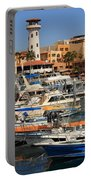 Harbor Waterfront In Cabo San Lucas Portable Battery Charger