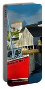 Harbour Mist In Peggy's Cove No 103 Portable Battery Charger