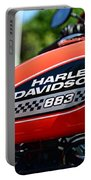 Harley Davidson  883 Gas Tank Portable Battery Charger