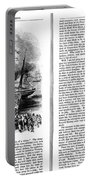 Harpers Magazine, 1861 Portable Battery Charger
