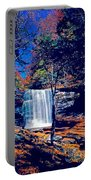 Harrison Wright Falls In Fall Portable Battery Charger