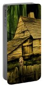 Haunted Shack Portable Battery Charger