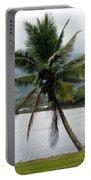 Hawaiian Palm Portable Battery Charger