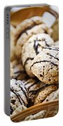 Hazelnut Cookies Portable Battery Charger