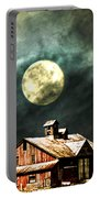 Hdr Moon And Barn Portable Battery Charger