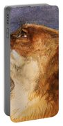 Head Of A Fox Portable Battery Charger