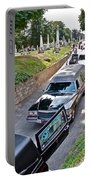 Hearses At Laurel Hill Cemetery Portable Battery Charger