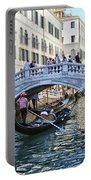 Heart In Venice Portable Battery Charger