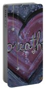 Heart Says Breathe Portable Battery Charger