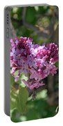 Heart Shaped Lilac Portable Battery Charger