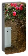 Heart Shutters And Red Roses Portable Battery Charger