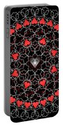 Hearts And Lace 2012 Portable Battery Charger