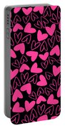 Hearts Portable Battery Charger