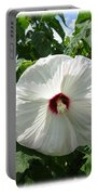 Hearty Hibiscus Portable Battery Charger