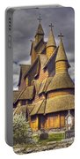 Heddal Stave Church  Portable Battery Charger