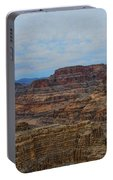 Helicopter View Of The Grand Canyon Portable Battery Charger