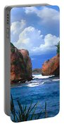 Hells Gate Rocks Near Calibishie Dominica Portable Battery Charger