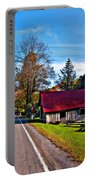 Helvetia Wv Painted Portable Battery Charger