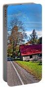 Helvetia Wv Portable Battery Charger by Steve Harrington