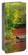 Henes Park Pond Bridge Portable Battery Charger