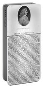 Henry Fielding (1707-1754) Portable Battery Charger