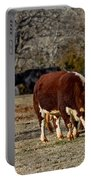 Hereford Cattle Portable Battery Charger