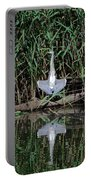 Heron Sunbath Portable Battery Charger