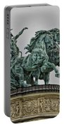 Heros Square Statue Portable Battery Charger