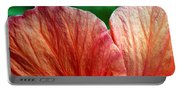 Hibiscus Fandango Portable Battery Charger