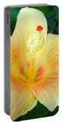 Hibiscus Hip Portable Battery Charger