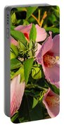 Hibiscus In Summer Portable Battery Charger
