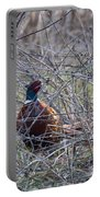 Hiding Pheasant Portable Battery Charger