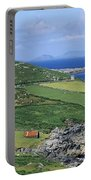 High Angle View Of A Coastline, Beara Portable Battery Charger