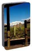 High Chaparral Old Tuscon Arizona  Portable Battery Charger