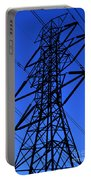 High Voltage Power Line Silhouette Portable Battery Charger
