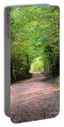 Hiking At Sundown Portable Battery Charger