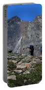 Hiking In Jasper Portable Battery Charger