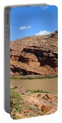 Hiking The Moab Rim Portable Battery Charger