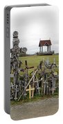 Hill Of Crosses 01. Lithuania Portable Battery Charger