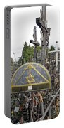 Hill Of Crosses 04. Lithuania Portable Battery Charger