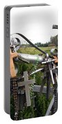 Hill Of Crosses 08. Lithuania Portable Battery Charger
